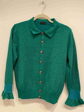 Casaco Iorane Lurex Verde