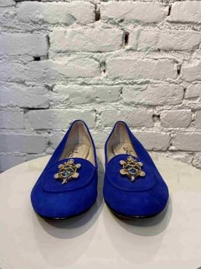 Mocassin Not A Shoe Pedrarias Azul