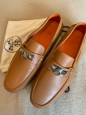 Sapato Hermès Couro