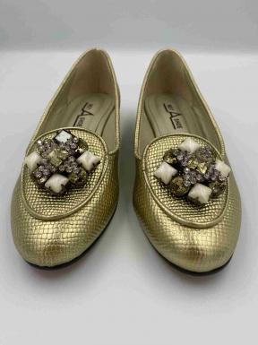 Sapato Not A Shoe Dourado