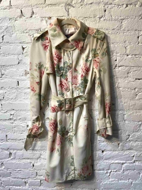 Trench Coat John Galliano Floral