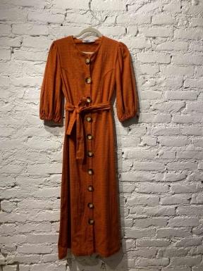 Vestido Clemence Midi Telha