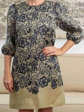 Vestido Dolce & Gabbana Crepe de Seda