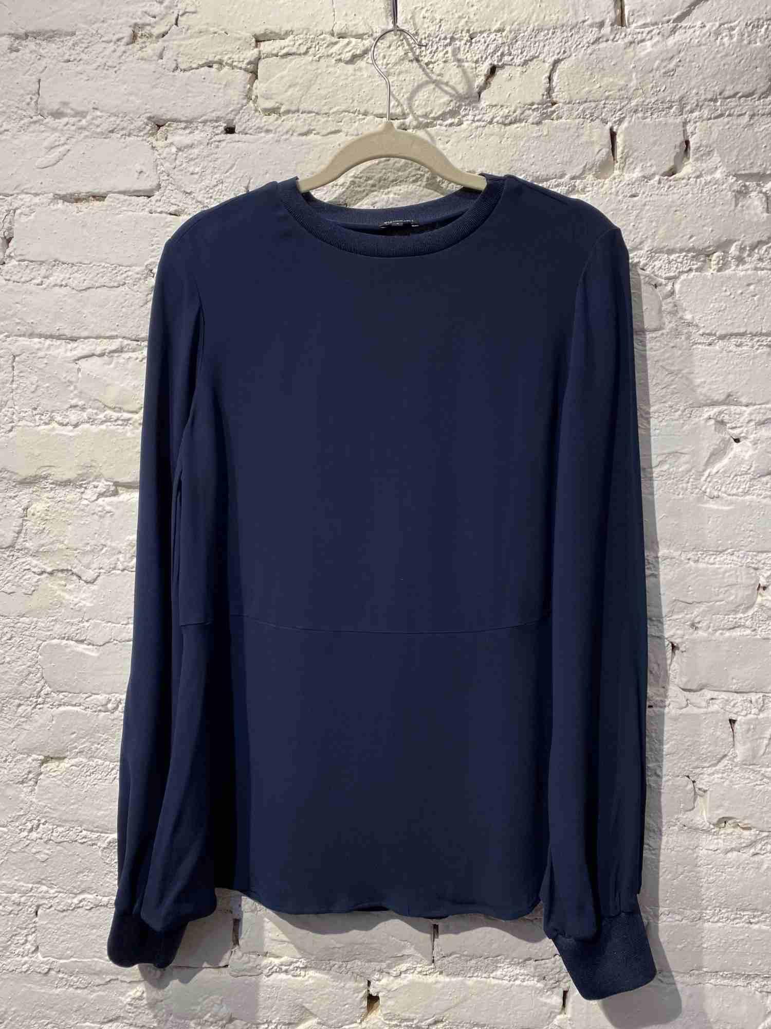 Blusão Le Lis Blanc Azul Marinho