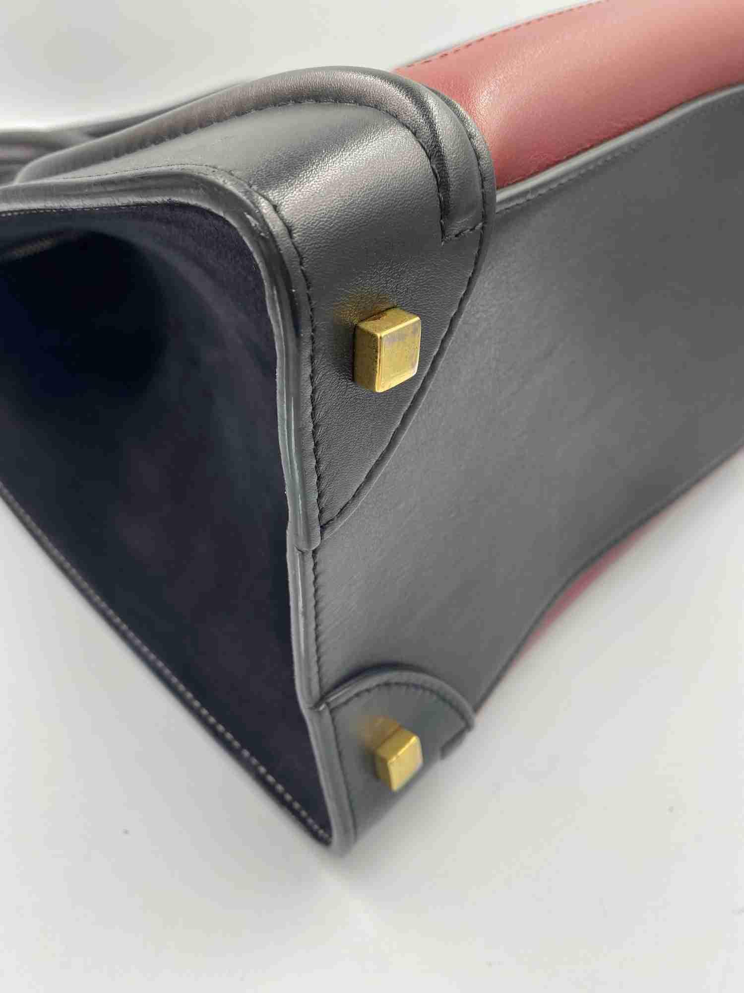 Bolsa Celine Luggage Tote Bicolor