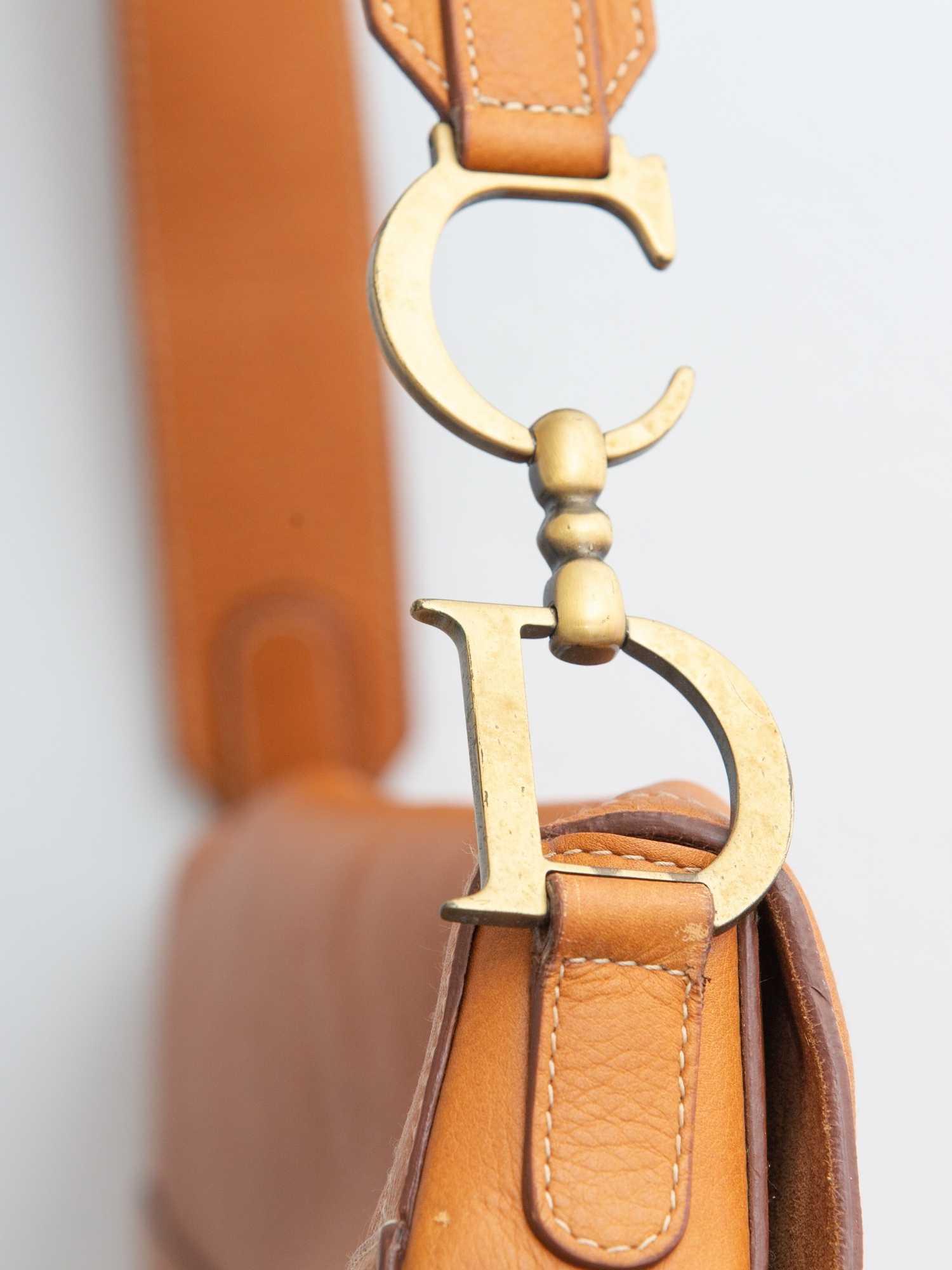 Bolsa Christian Dior Saddle GG