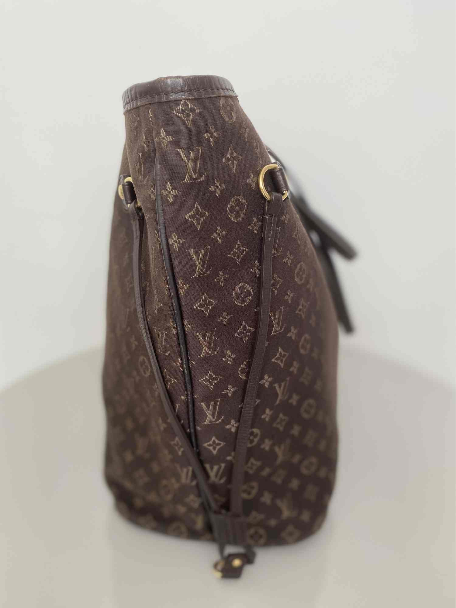 Bolsa Louis Vuitton Neverfull MM Idylle Fusain