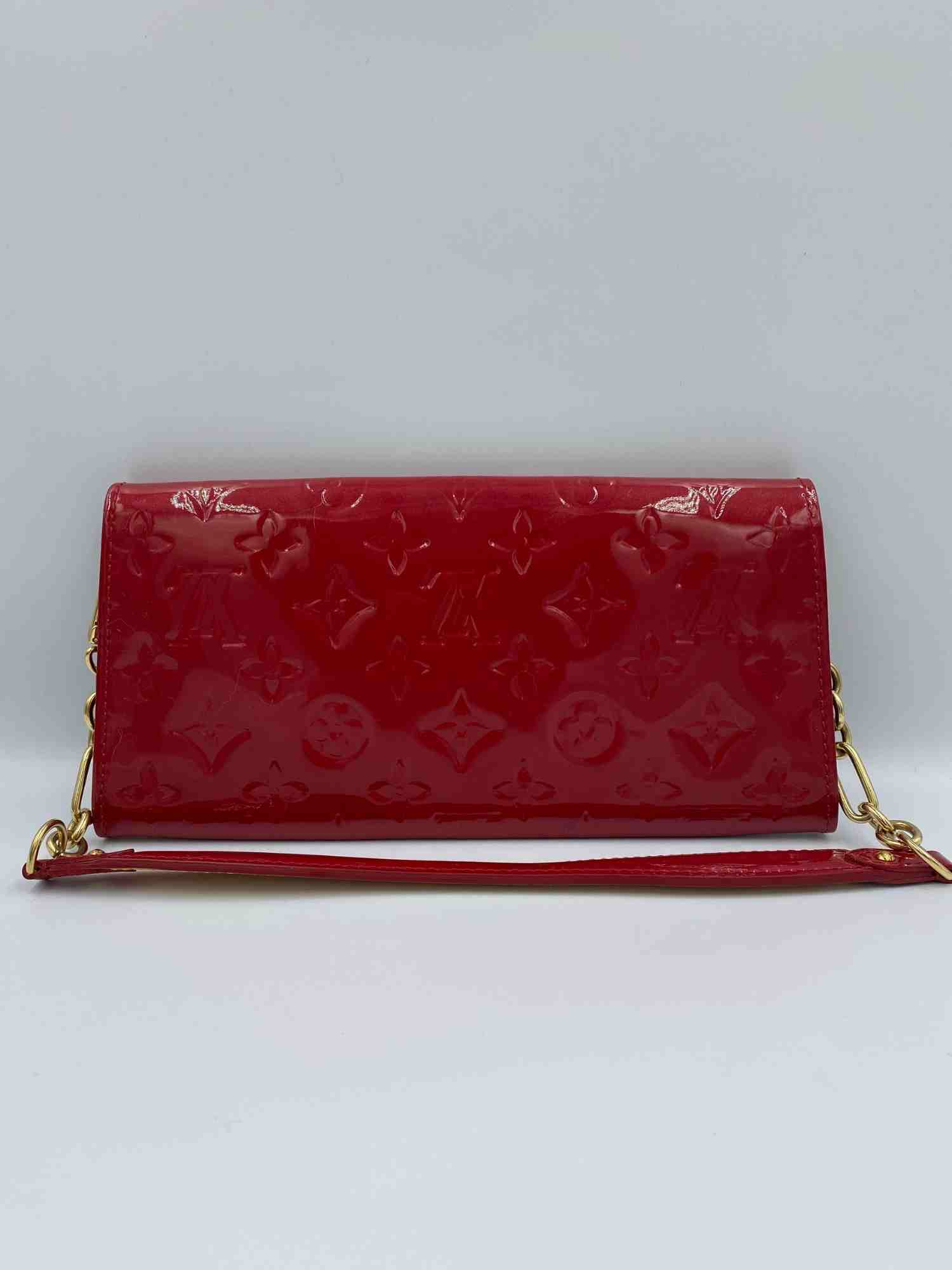 Bolsa Louis Vuitton Pochette Sunset Boulevard Vernis Vermelha