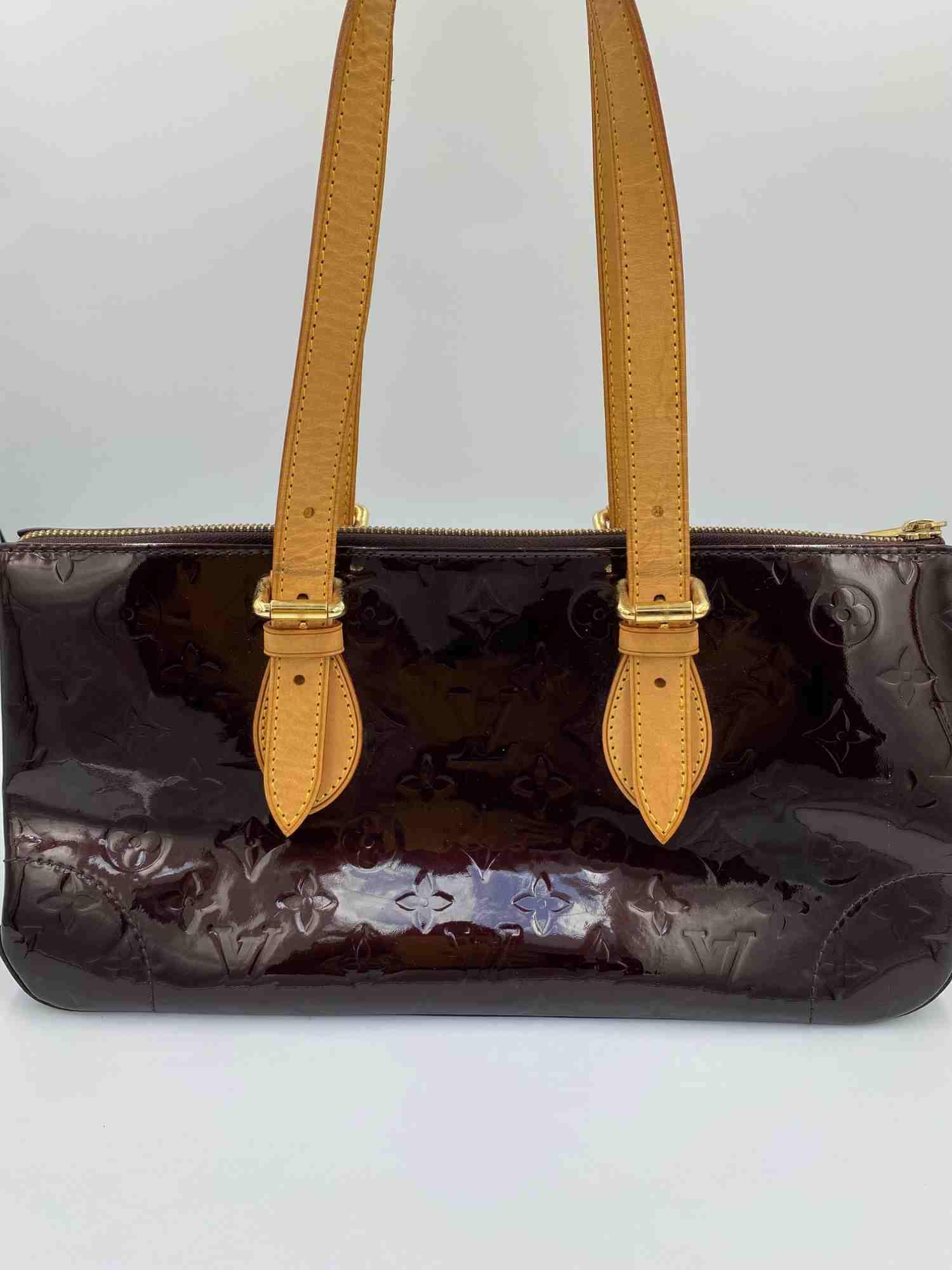 Bolsa Louis Vuitton Rosewood Monograma Verniz