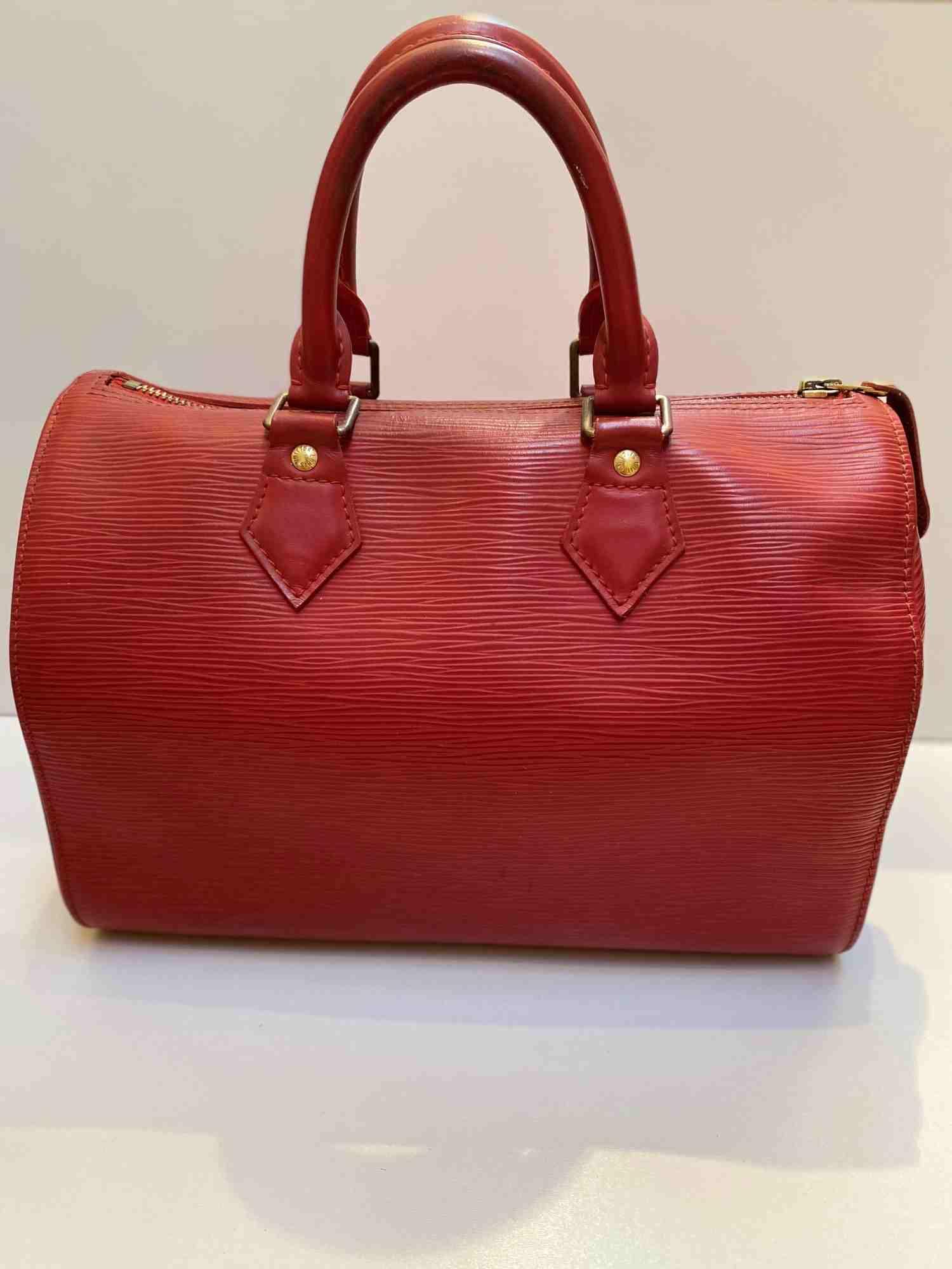 Bolsa Louis Vuitton Speedy 25 EPI Vermelha