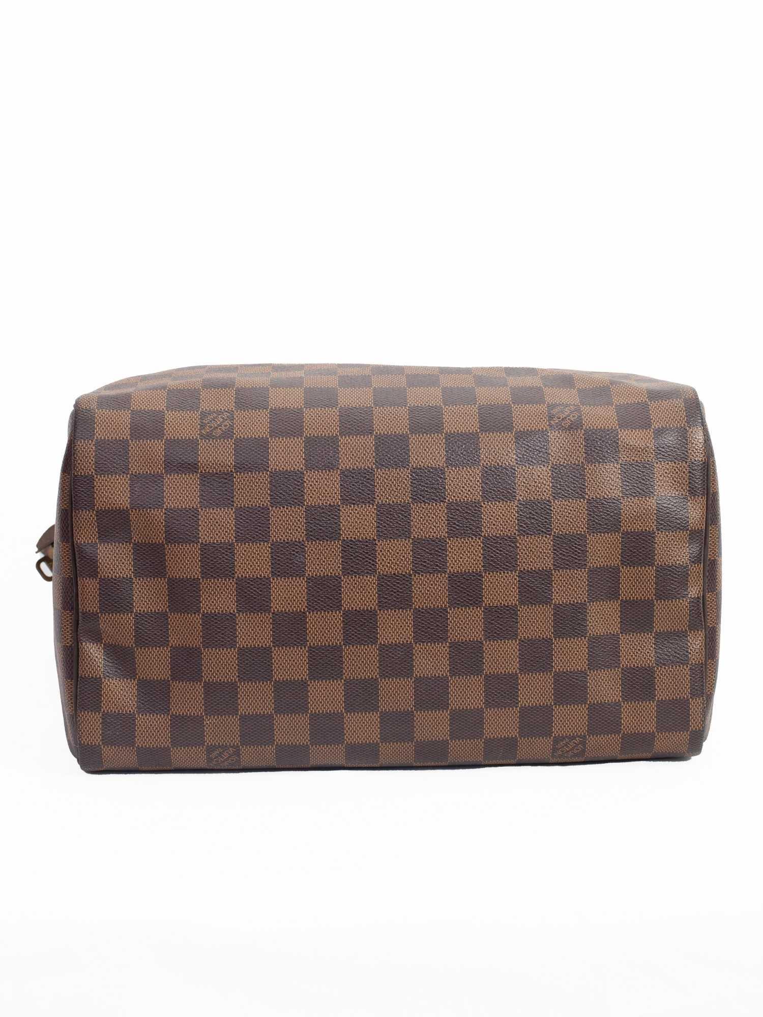 Bolsa Louis Vuitton Speedy 30 Damier Ebene