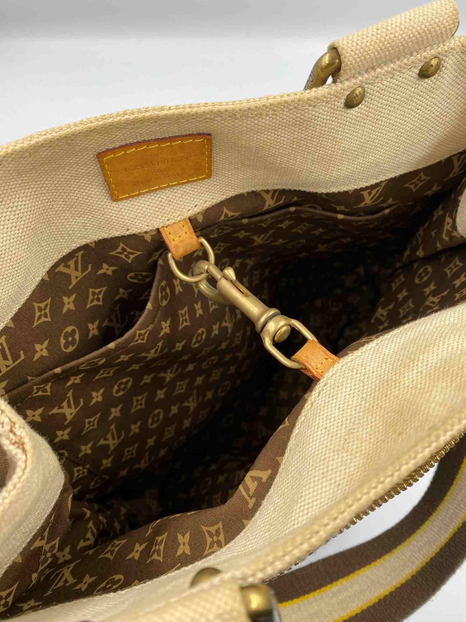 Bolsa Louis Vuitton Toile Globe Shopper Cabas
