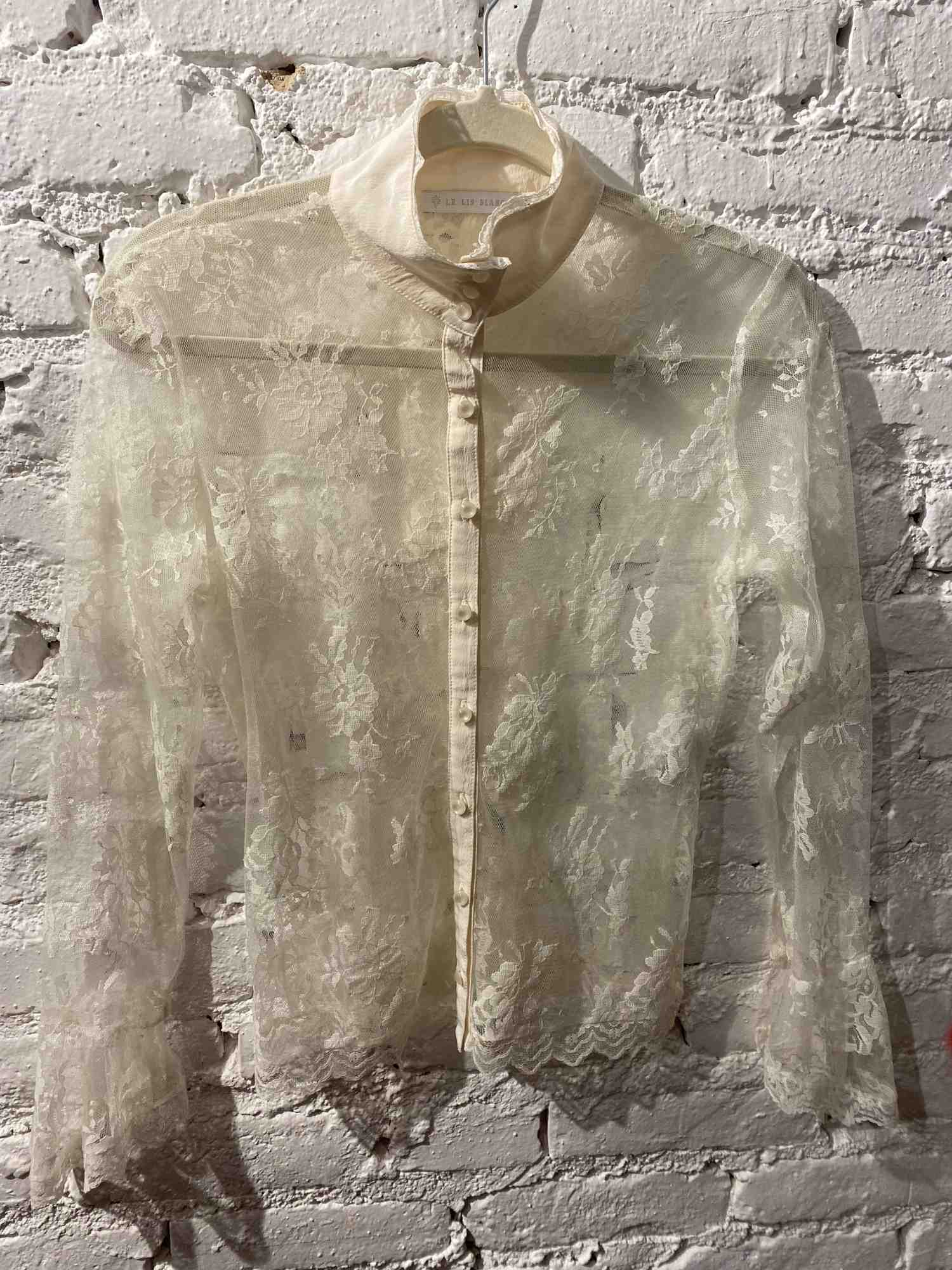 Camisa Le Lis Blanc Renda Branca