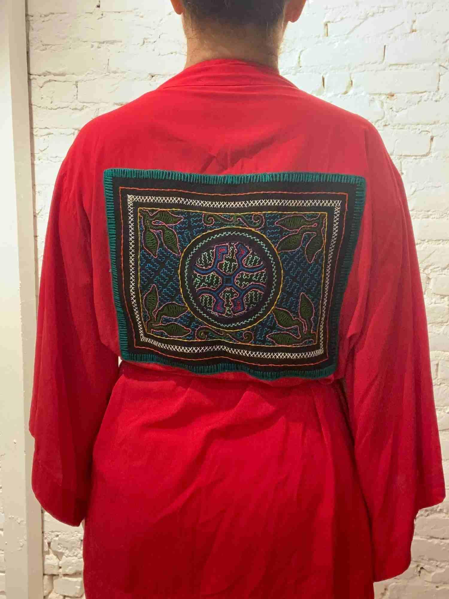 Kimono Maria Manoela Vermelho