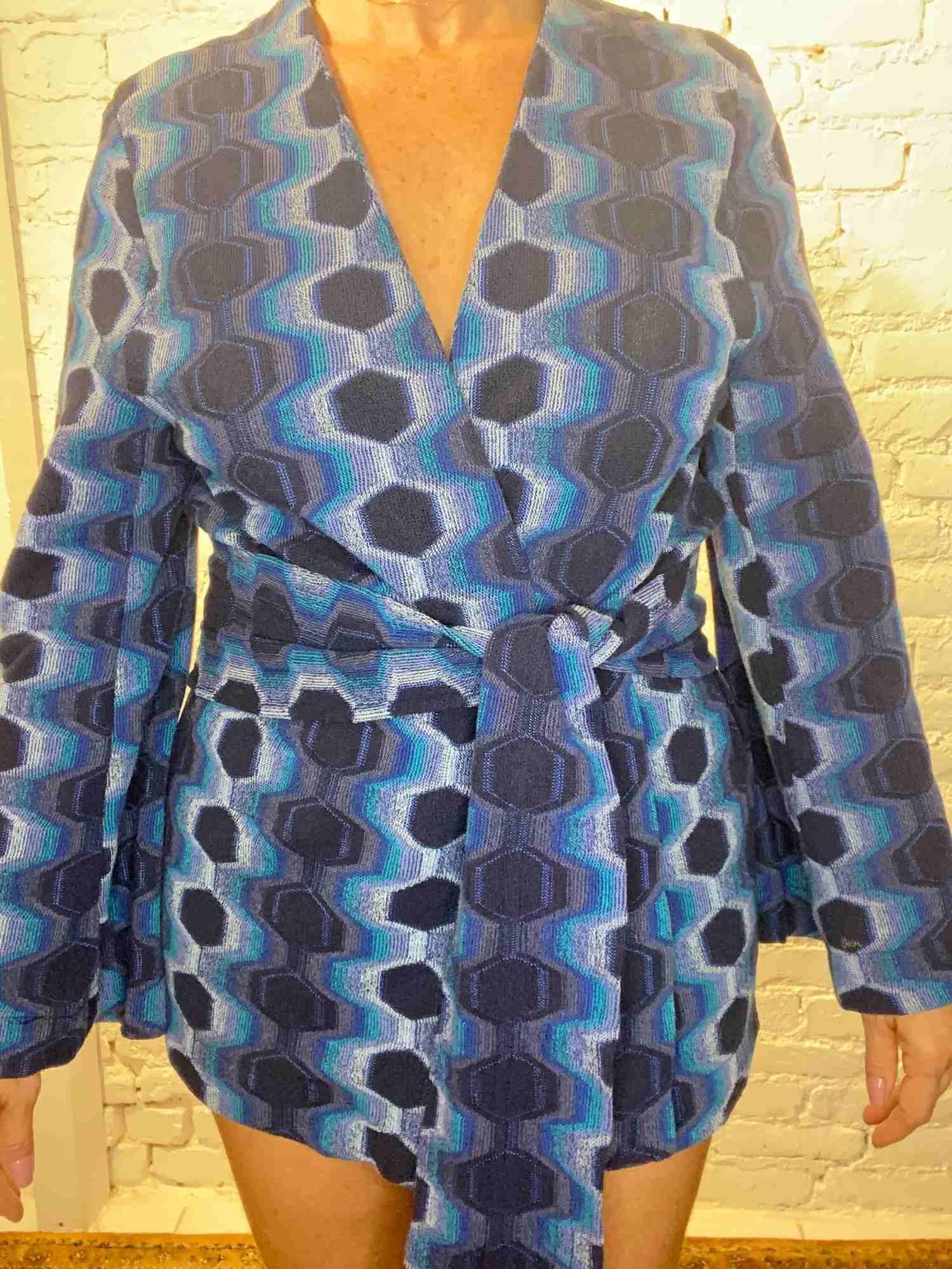 Kimono Mixed Azul