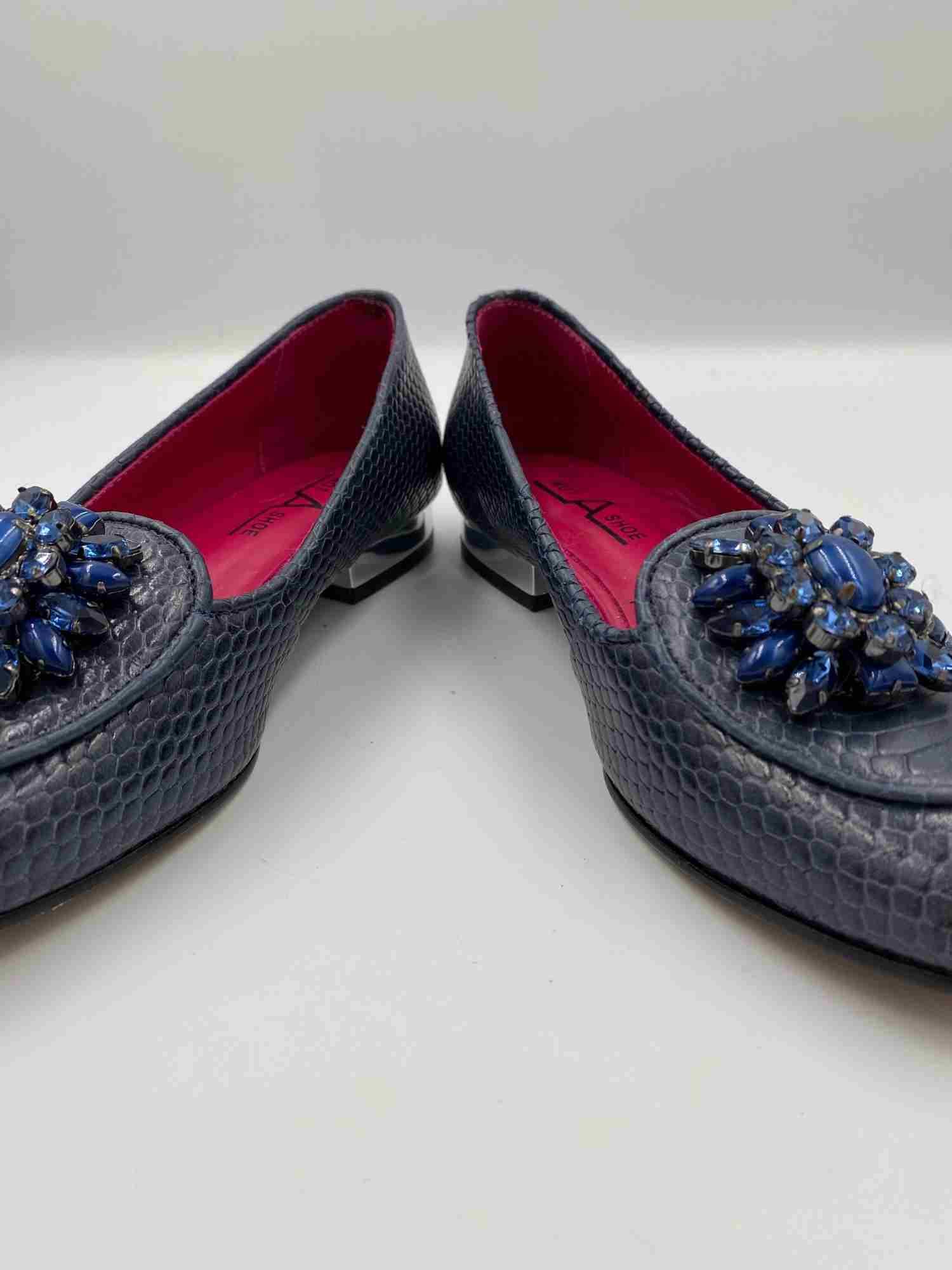 Mocassim Not A Shoe Tartaruga e Pedrarias Azul