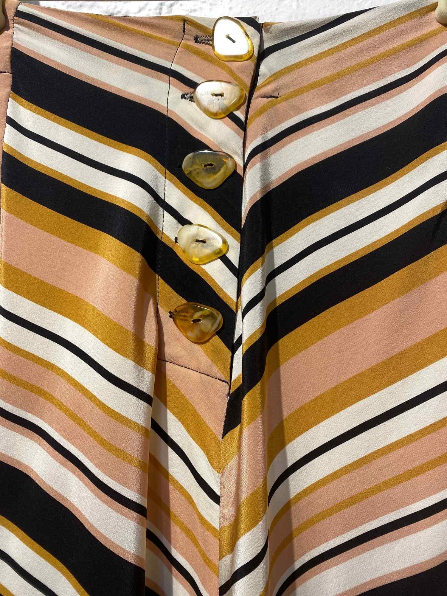 Saia e blusa A.Brand Listras