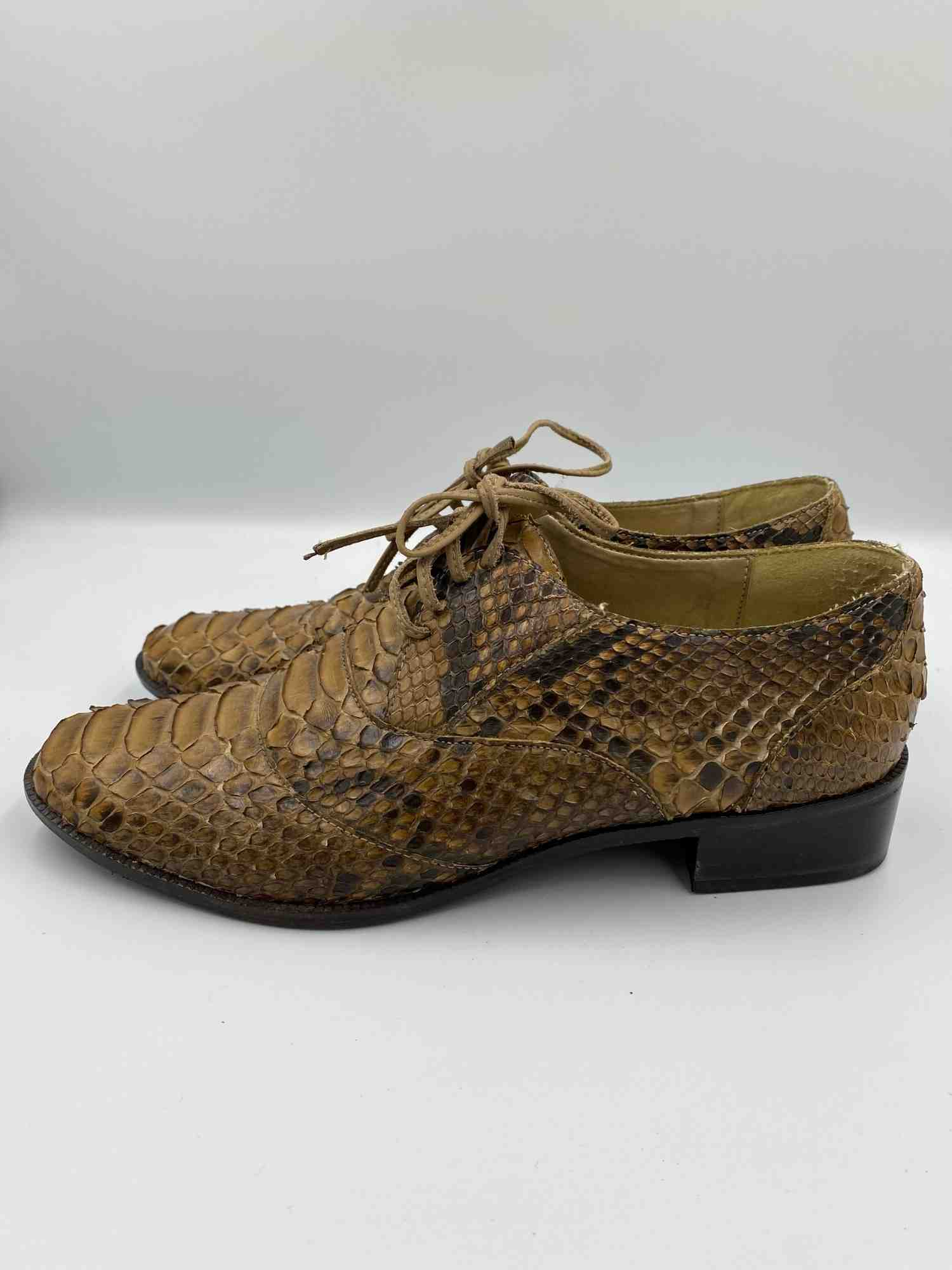 Sapato Hackmore Oxford Python