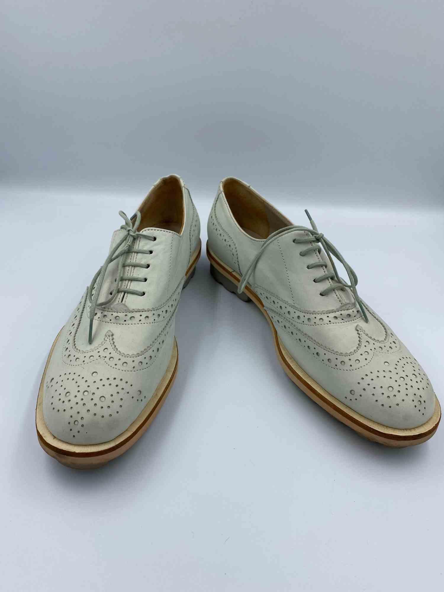 Sapato Robert Clergerie Oxford Branco