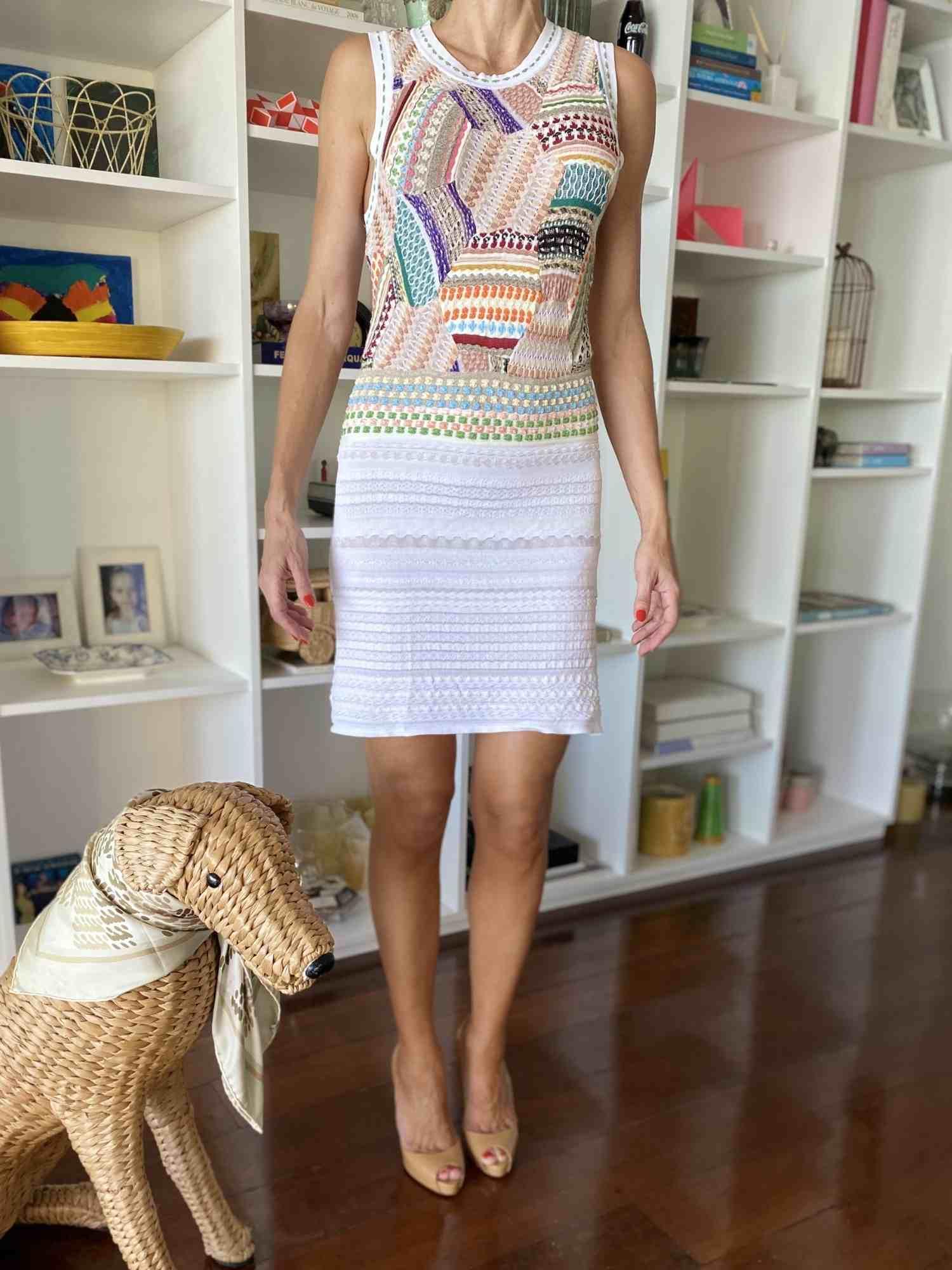 Vestido Missoni Branco