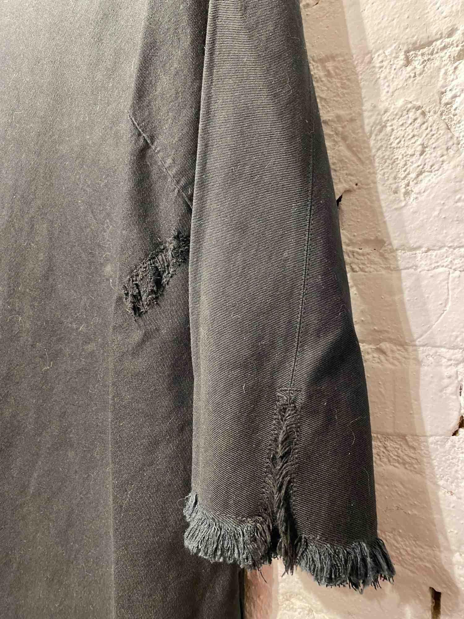 Vestido Osklen Brim Preto