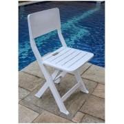 Cadeira Plástica Dobrável