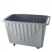 Carrinho coletor em fibra de vidro com Rodízios e SEM tampa 700 litros