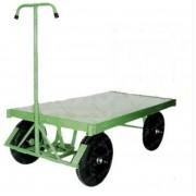 Carro Plataforma 5º Roda e sem Grade - 800 kg