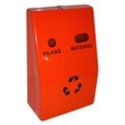 Coletor Pilhas E Baterias em fibra de Vidro 25 litros