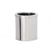 Lixeira em Aço Inox com Aro 10 Litros