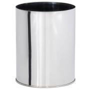 Lixeira em Aço Inox Sem tampa 13 Litros