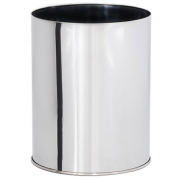 Lixeira em Aço Inox Sem tampa 30 Litros