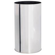 Lixeira em Aço Inox Sem tampa 95 Litros