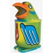 Lixeira em Fibra de Vidro Modelo Papagaio