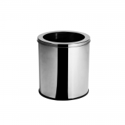 Lixeira Inox c/ Aro 6,9 Litros Elegance