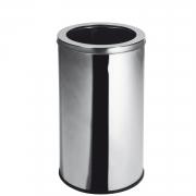 Lixeira Inox com Aro 35 Litros Elegance