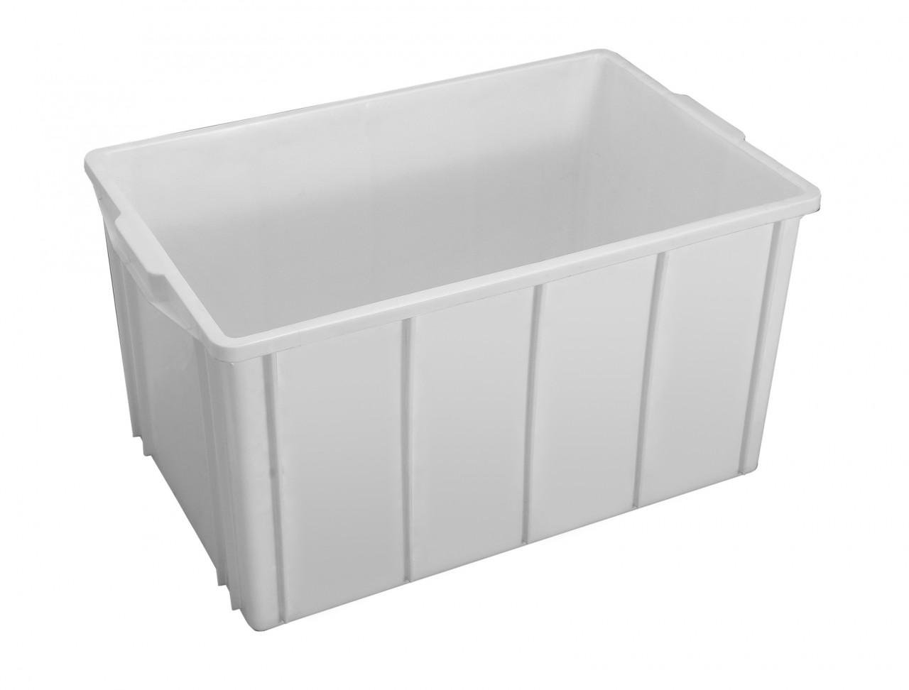 Caixa plástica com capacidade para 61 Litros