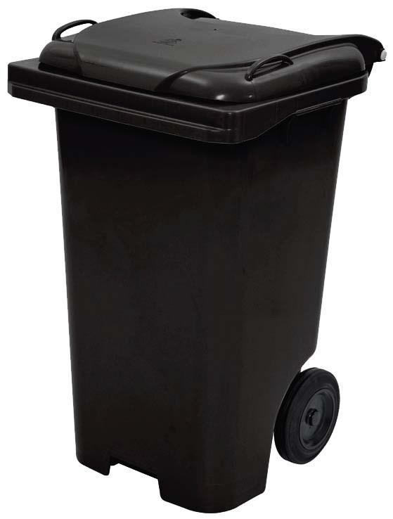 Carrinho Coletor de Lixo 120 Litros sem pedal   - Reis Lixeiras