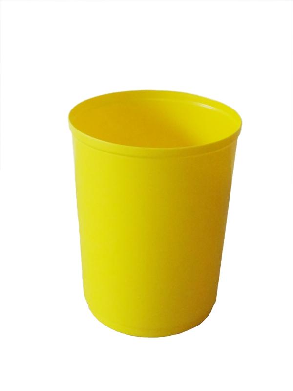 Cesto cônico de plástico empilhável 13 litros