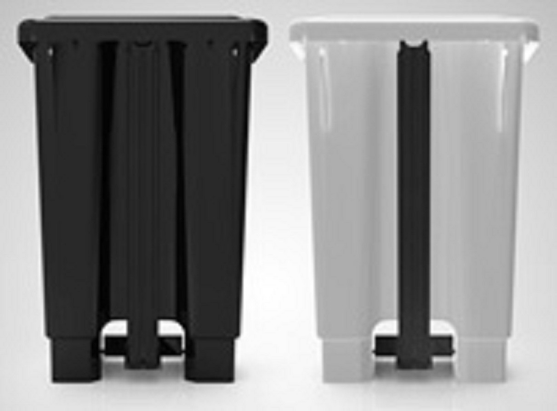 Cesto plástico com pedal 100 Litros
