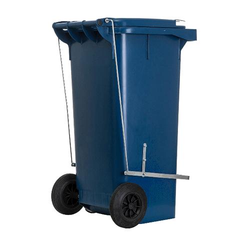 Coletor de lixo 120 Litros com pedal