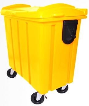 Container de lixo 700 litros Roto Moldado