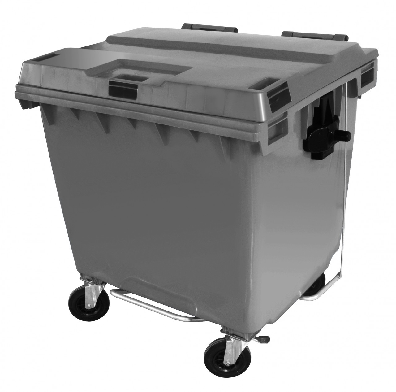 Contêiner para lixo em plástico com pedal 1000 litros