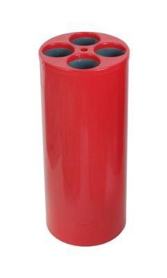 Dispensador de copos usados com 4 tubos para copos de água   - Reis Lixeiras