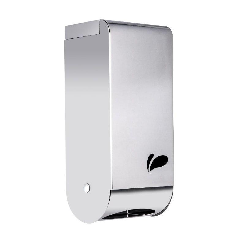 Dispenser de parede para papel higiênico Caicai em aço inox