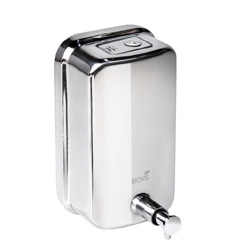 Dispenser de parede para sabonete líquido ou álcool em gel 1000 ML  - Reis Lixeiras