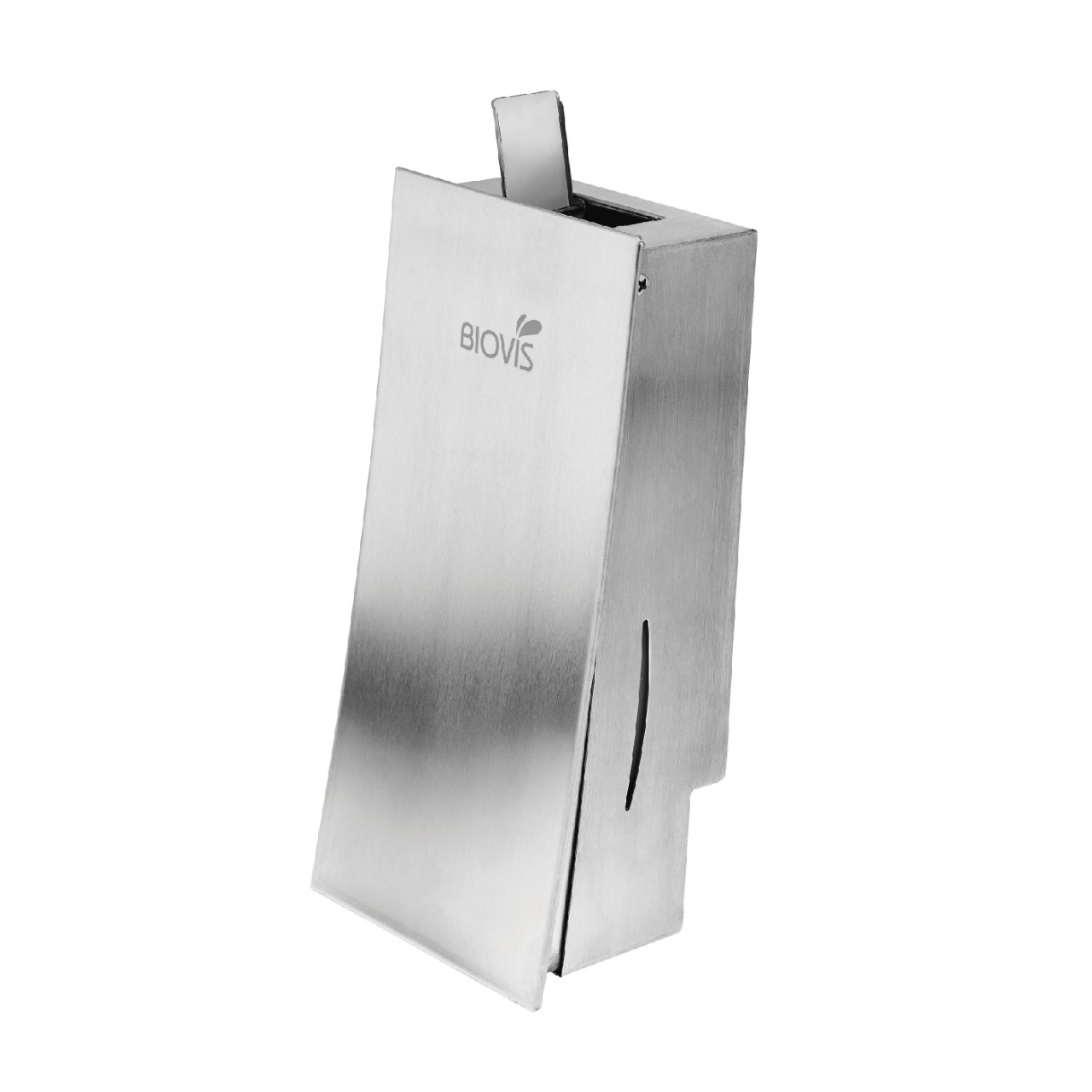 Dispenser de parede para sabonete líquido ou álcool em gel em Inox  - Reis Lixeiras