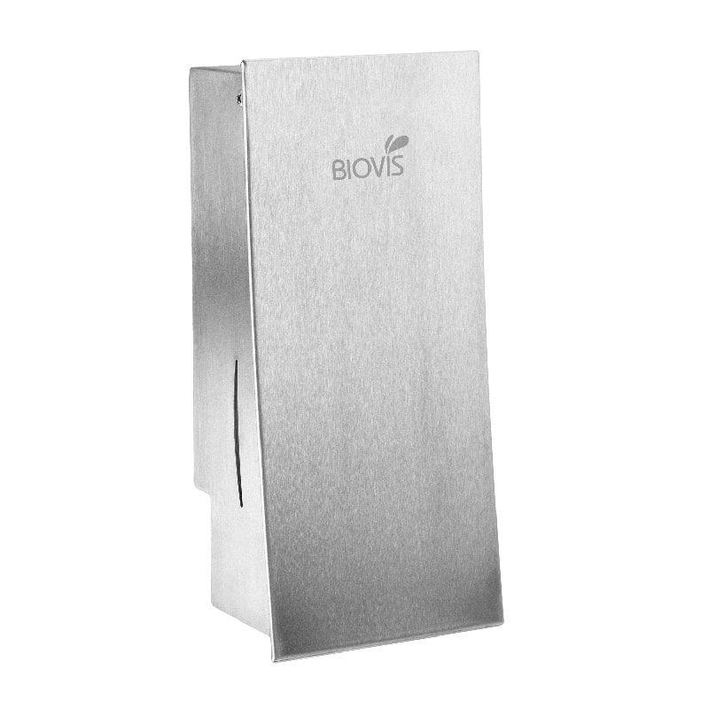 Dispenser para sabonete líquido ou álcool em gel Slim em Inox - 800 Ml