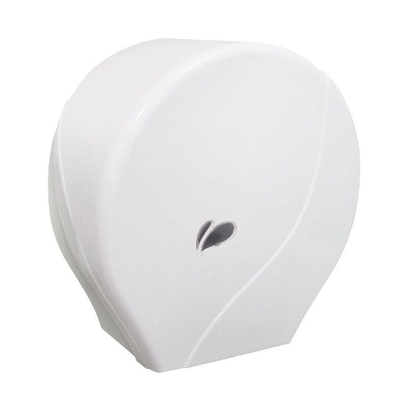 Dispenser plástico de parede para rolo de papel higiênico 300 Metros  - Reis Lixeiras