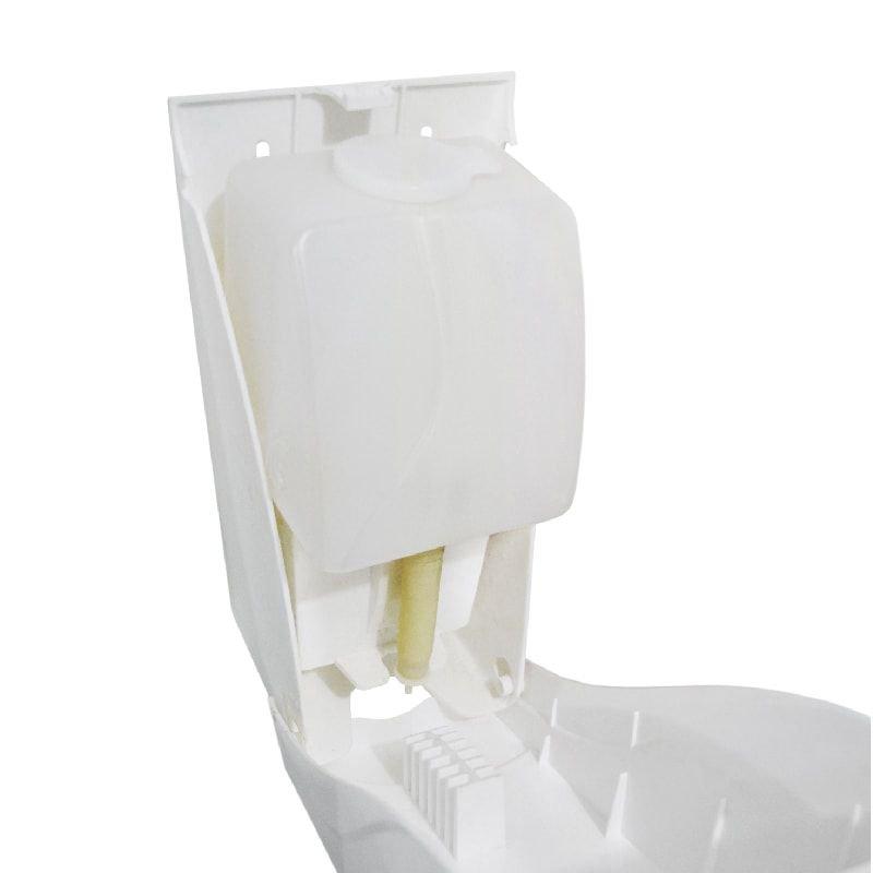 Dispenser plástico para sabonete líquido ou álcool em gel 800 ml  - Reis Lixeiras